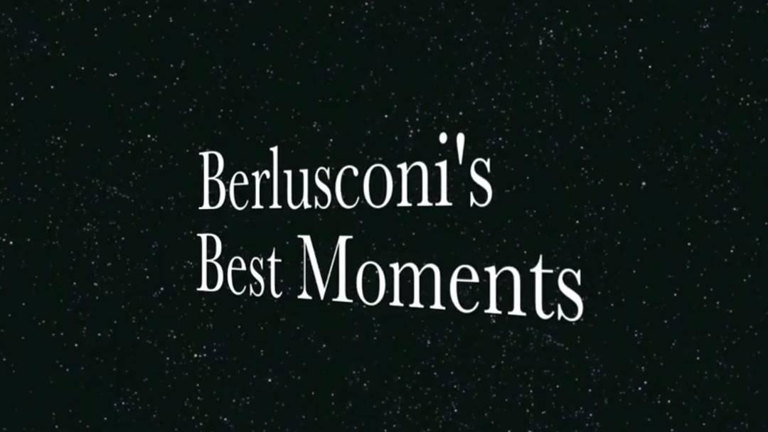 Die zehn besten Momente von Silvio Berlusconi.