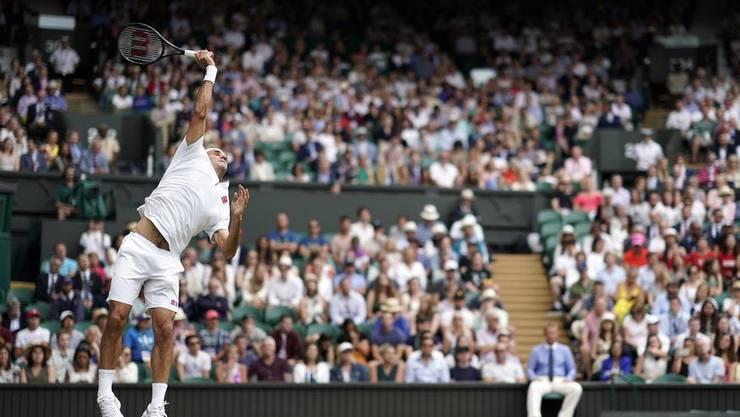 Bislang war der Aufschlag eine Waffe – auch gegen Nadal?