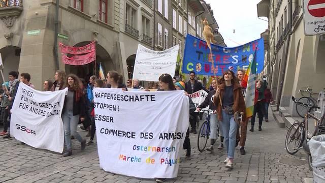 Marschieren für den Frieden