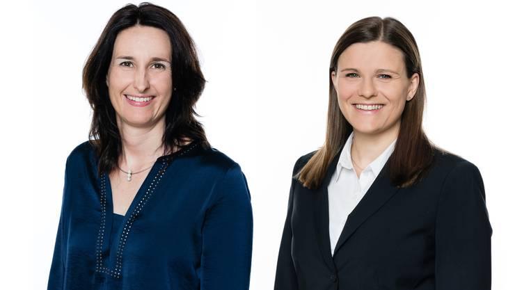 Judith Gähler und Désirée Mollet, Schulpflegerinnen in Wettingen