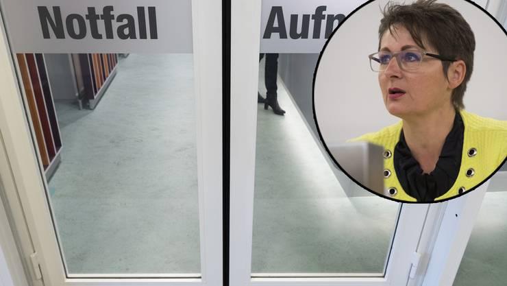Die Spitäler, hier die Notfallaufnahme im Kantonsspital Aarau, haben eine Aufnahmepflicht für Patienten.