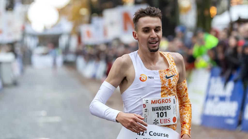 Julien Wanders unterbot seine bisherige Bestleistung über 10 km um zwölf Sekunden (Archivbild)
