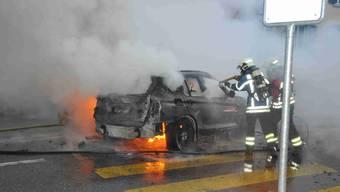 Autobrand in Grenchen