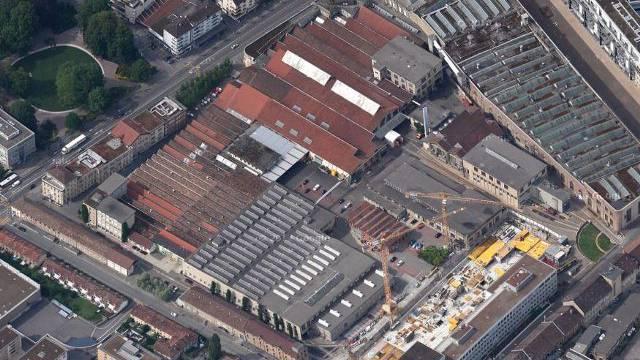 Hier auf dem Sulzer-Areal Werk 1 soll das neue Hochhaus entstehen.