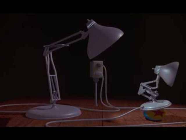 Legendär: Der Pixar-Kurzfilm aus dem Jahr 1986 über das Lämpchen Luxo Jr.