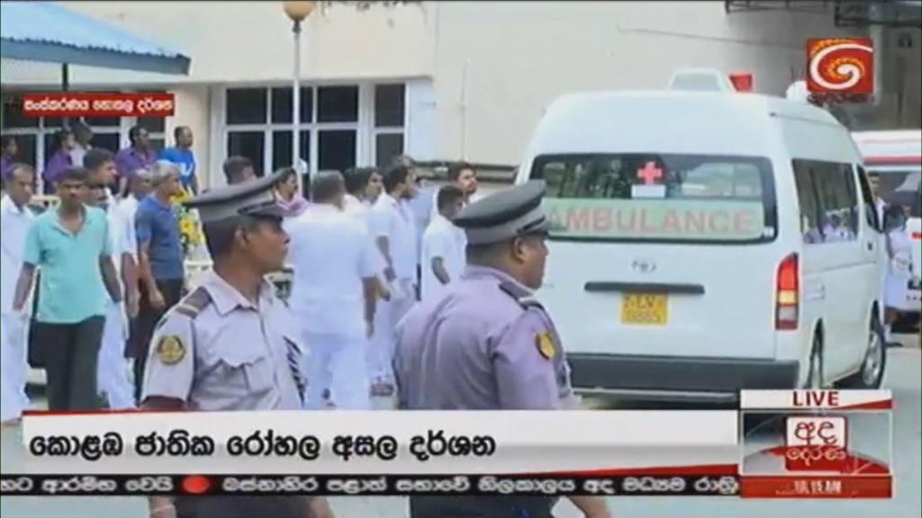 Anschläge in Sri Lanka fordern unzählige Tote