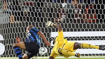Inters Biabiany erzielt das 3:0 im Final der Klub-WM