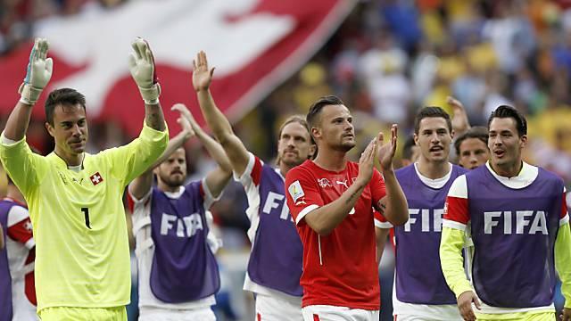Nach dem Sieg gegen Ecuador stand Regeneration auf dem Programm