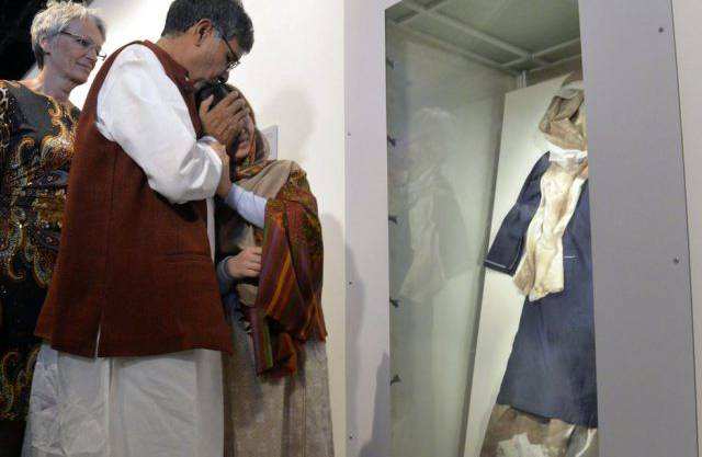 Friedensnobelpreisträger Malala Yousafzai und Kailash Satyarthi