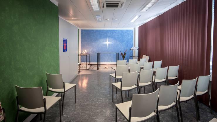 Der Andachtsraum am Flughafen soll für alle Glaubensrichtungen offen stehen.