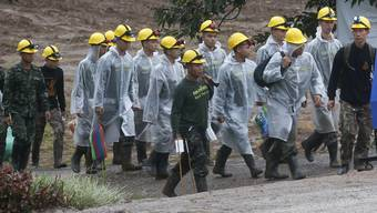 Kopie von Höhlendrama in Thailand: Vier Jungen gerettet, weitere warten