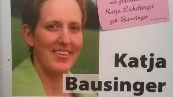 Die Kandidatin Katja Bausinger hat geheiratet und heisst nun Katja Eichelberger.