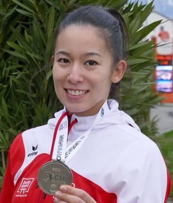– Maya Schärer nach ihrer Silbermedaille