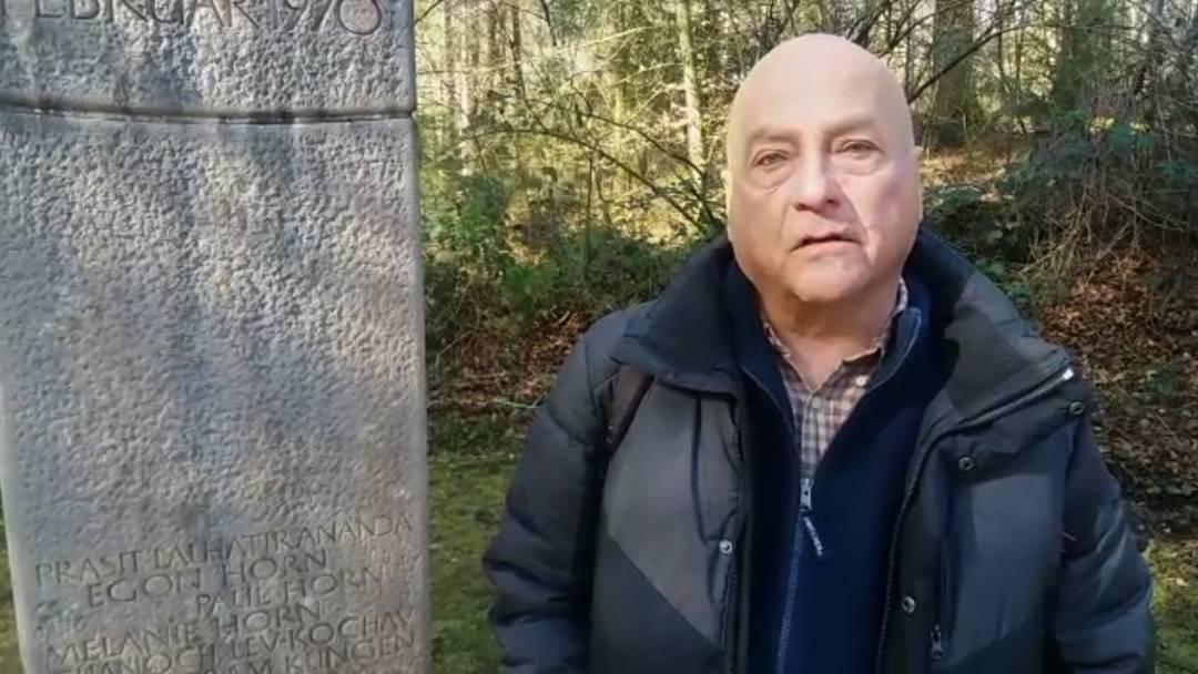 Gedenkanlass 50 Jahre Flugzeugabsturz Würenlingen – «Hier in diesem Wald habe ich vor 50 Jahren jemanden verloren, der mir sehr nahe stand»