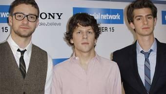 """Schauspieler des Films """"The Social Network"""""""