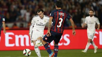 Reals Gareth Bale nimmt Mass zum 2:0