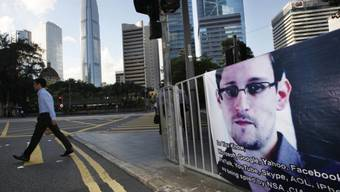 Snowden hält sich zurzeit in Hongkong auf
