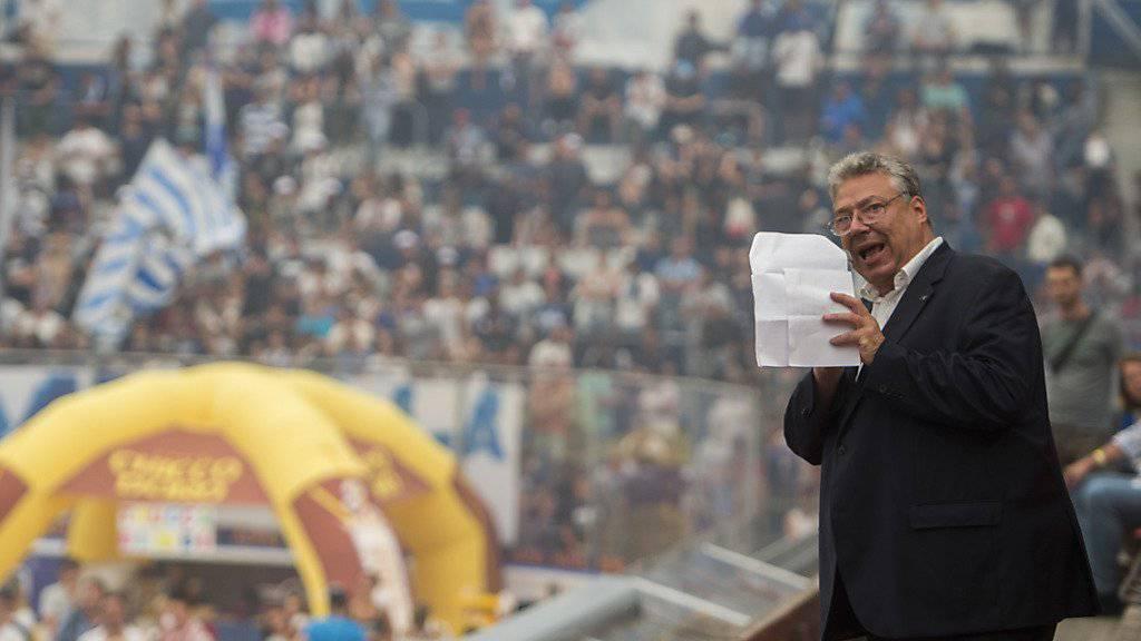 Ambris Präsident Filippo Lombardi war bei der traditionellen Team-Präsentation für die laufende Saison im letzten Sommer noch optimistisch