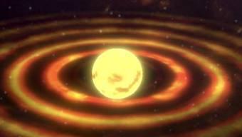 Urknall, Sterne, Planeten und die Teilchen, aus denen wir bestehen: Die Geschichte des Universums erzählt eine interaktive App.