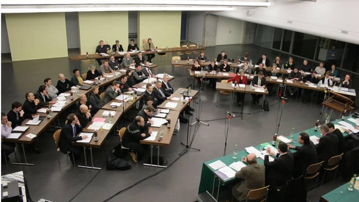Der Badener Einwohnerrat diskutierte intensiv über das Planungsleitbild 2026.