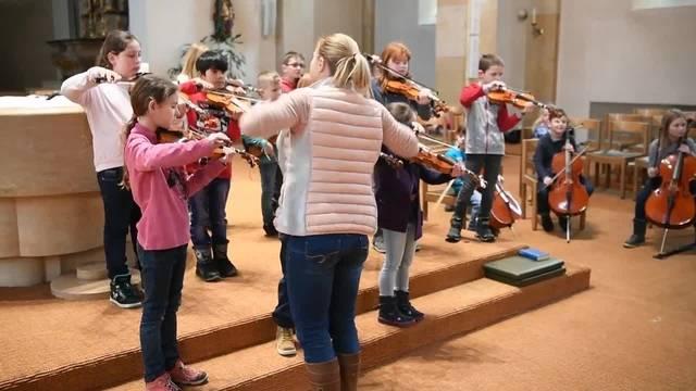 Projekt Klassenmusizieren in Mümliswil-Ramiswil