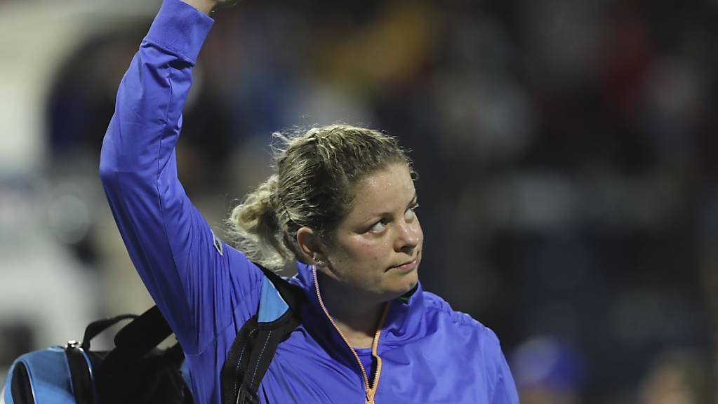 Kim Clijsters wird den Zuschauern erstmals seit 2012 am US Open zuwinken