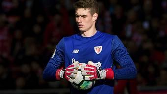 Goalie Kepa Arrizabalaga verlässt Athletic Bilbao für eine festgeschriebene Ablösesumme von 80 Millionen Euro