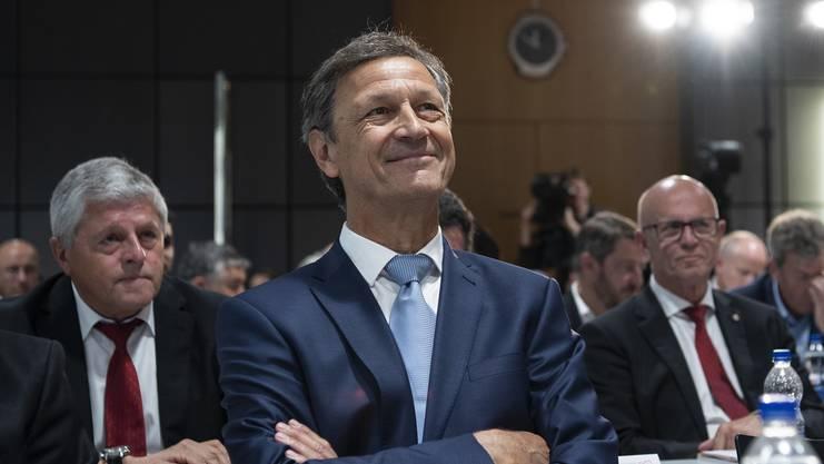 Der neugewählte SVF-Präsident: Dominique Blanc.