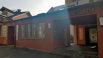 Die Kirche befand sich im Oederlin-Areal in Rieden.