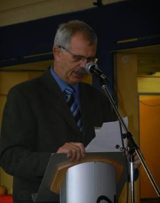 OK-Präsident Hans Leuenberger bei der offiziellen Eröffnung