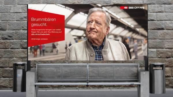 «Sagen Sie uns Ihre Meinung»: Die SBB haben auch heute noch ein Ohr für unzufriedene Kunden.