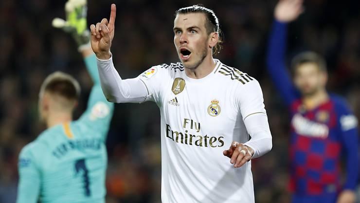 Gareth Bale kam dem Siegtreffer am nächsten