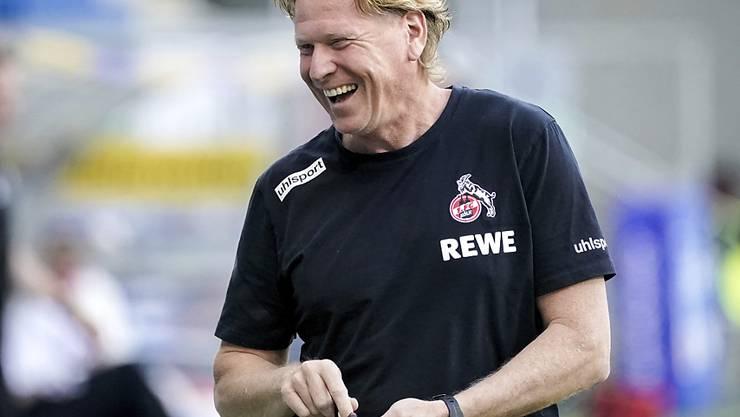 Der 1. FC Köln plant langfristig mit Trainer Markus Gisdol