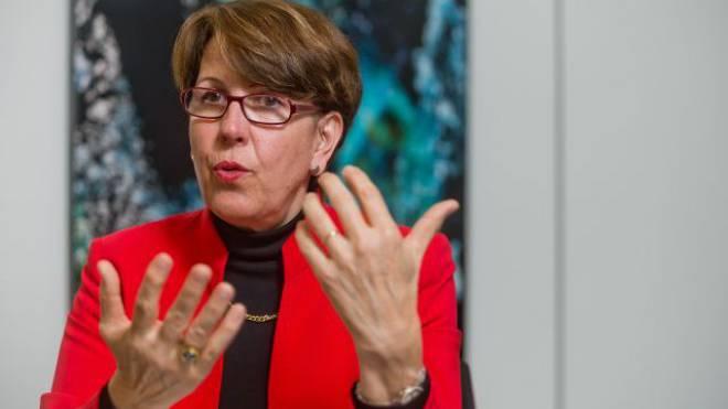 «Ich führe anders als meine Vorgänger»: Postchefin Susanne Ruoff. Foto: Emanuel Freudiger