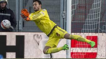 Mirko Salvi bei seinem Einsatz im Cup-Viertelfinal bei der Penalty-Niederlage gegen Sion