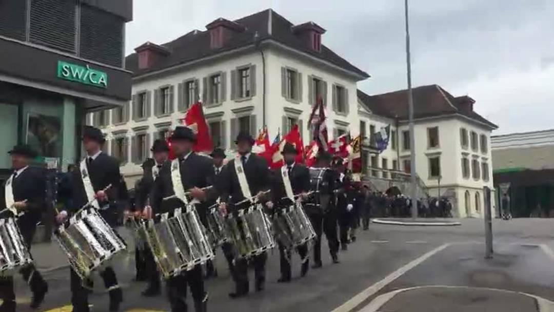 Festumzug des Schweizerischen Unteroffiziersverbands