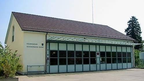 Das Bauamt soll ins ehemalige Feuerwehrmagazin Schinznach-Dorf ziehen. (Archivbild)