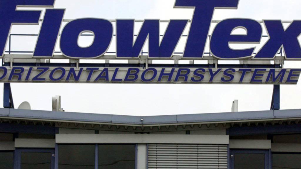 Die deutsche Firma FlowTex soll Geld in der Schweiz gewaschen haben. (Archiv)