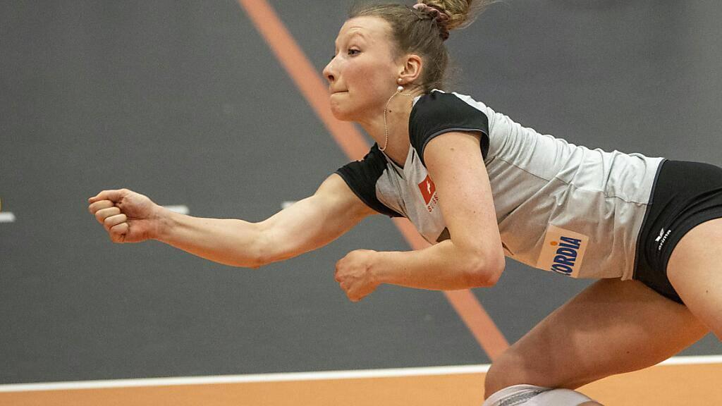 Die Passeuse Méline Pierret ist mit ihrer Erfahrung ein wichtiger Bestandteil des Schweizer Nationalteams