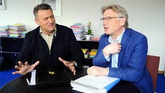 Ist Repression das richtige Mittel? Rico Brazerol (BDP) und Markus Bischoff (AL) zum Konkordat.MARC DAHINDEN