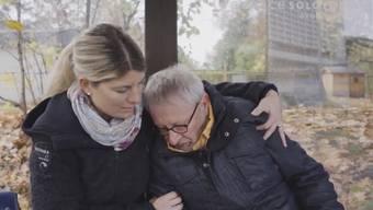 Wolfgang Schibler wird für eine Präventionskampagne zum Schauspieler – Eindrücke vom Videodreh.