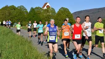Insgesamt 101 Läuferinnen und 295 Läufer nahmen am diesjährigen Wengi-Berglauf in Matzendorf teil.