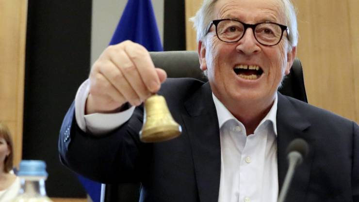Noch-EU-Kommissionspräsident Jean-Claude Juncker sieht eindeutig die Briten als Verlierer des Brexit, falls der Austritt aus der EU ohne ein Abkommen erfolge. (Archivbild)