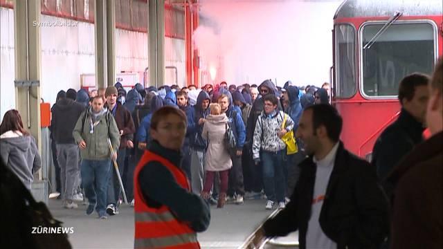 Keine Bahnpolizei in SBB-Fanzügen