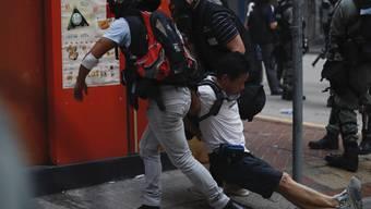 Proteste in Hongkong 1. Oktober 2019