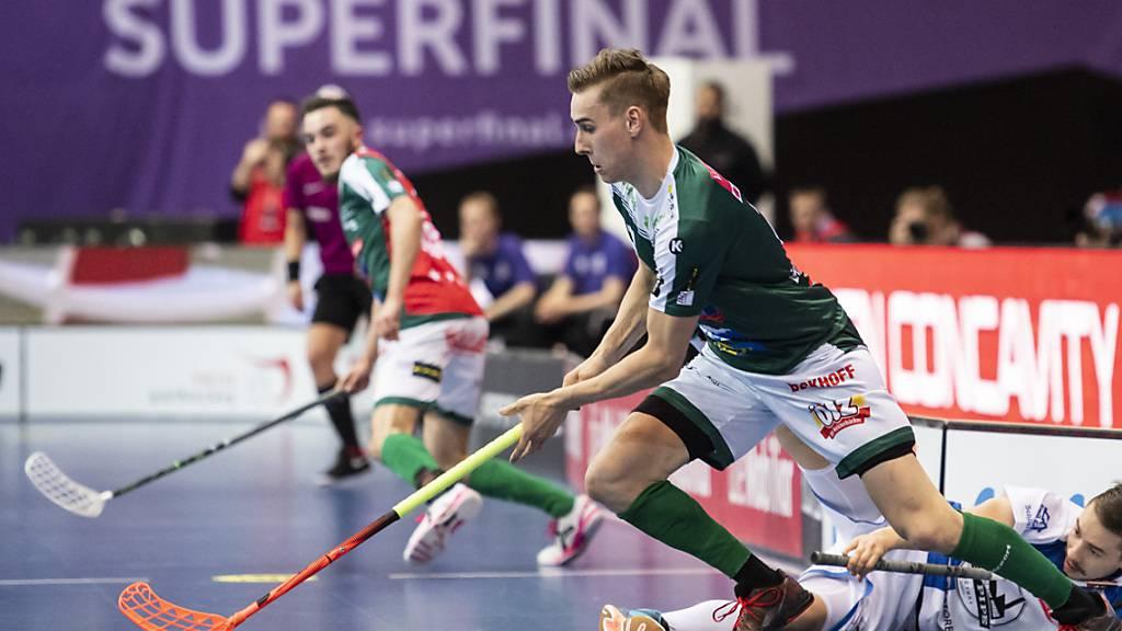 Die Unihockeyaner von Wiler-Ersigen peilen im Superfinal gegen Köniz den 13. Meistertitel der Klubgeschichte an