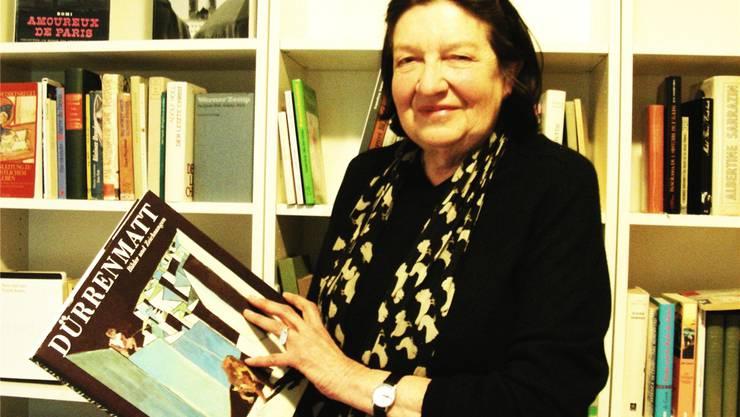 Bei Regina Meier dürfen Bücher abgeholt werden, ohne dass sie zurückgebracht werden müssen. abr
