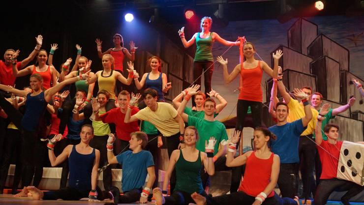 Farbenprächtiges Neujahrs-Spektakel des TSV Rohrdorf