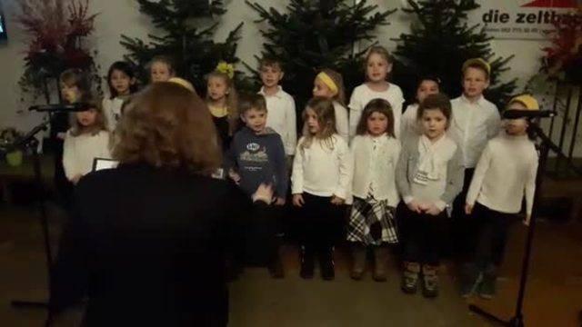 Die schönsten Lieder des Jugendchors der Lenzburger Kantorei am Chlausklöpf-Wettbewerb 2017