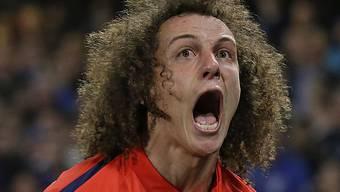 Schreit seine Freude hinaus: PSG's David Luiz